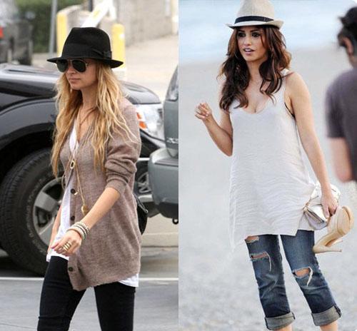 Шляпы федора